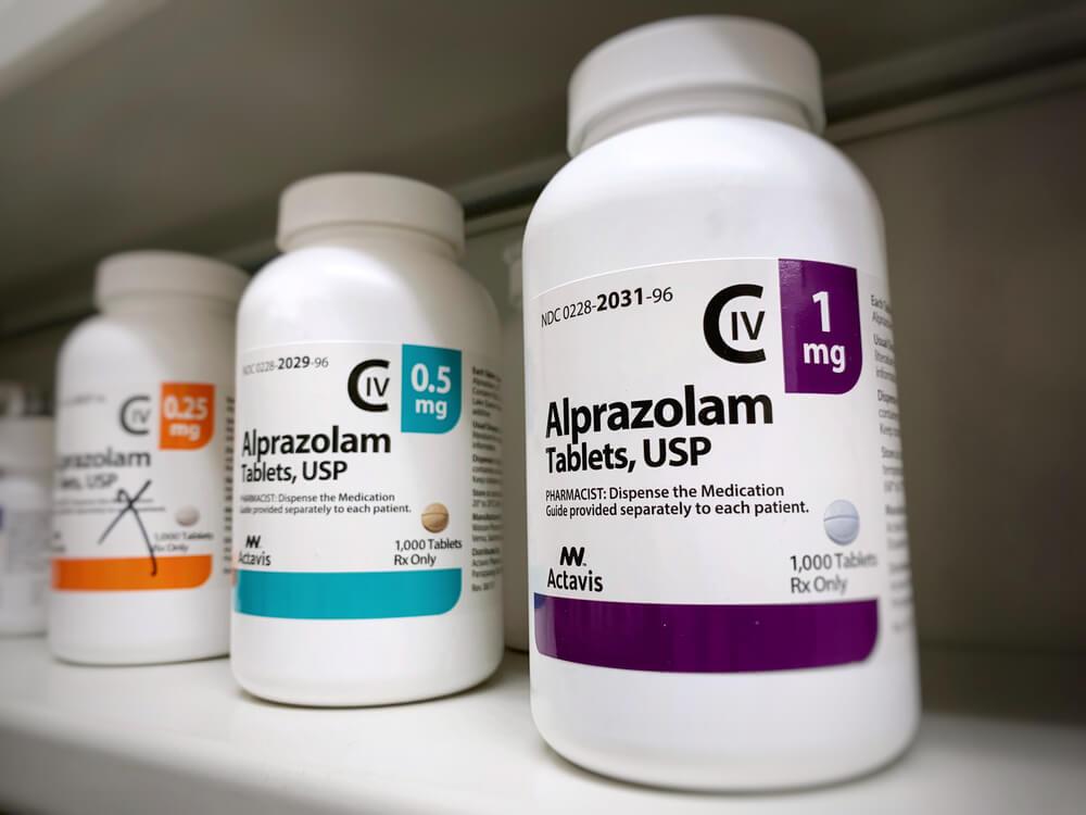 alprazolam cbd dependecia