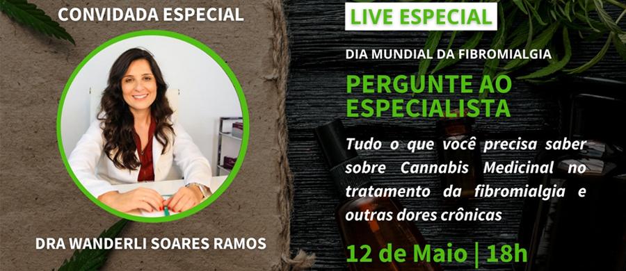 LIVE Pergunte ao Especialista: Cannabis, Fibromialgia e Dor Crônica com Dra Wanderli Ramos