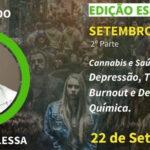 Setembro Amarelo: LIVE abordará Cannabis e saúde mental nesta quarta