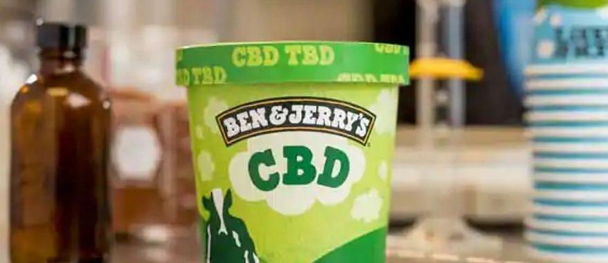 Ben & Jerry's com CBD
