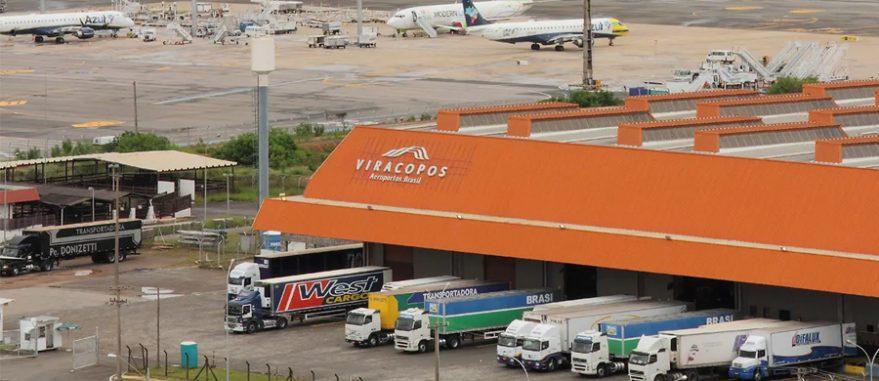 Terminal de Cargas do Aeroporto Internacional de Viracopos, em Campinas