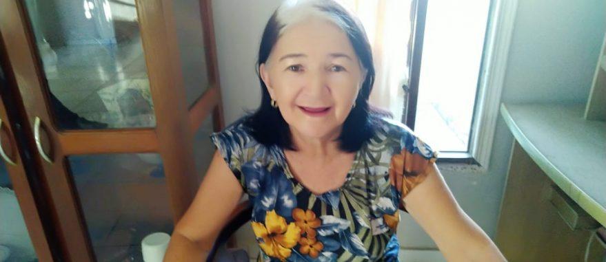 Maria das Dores Viana, de 71 anos, foi diagnosticada com Alzheimer (Foto: Arquivo Pessoal)